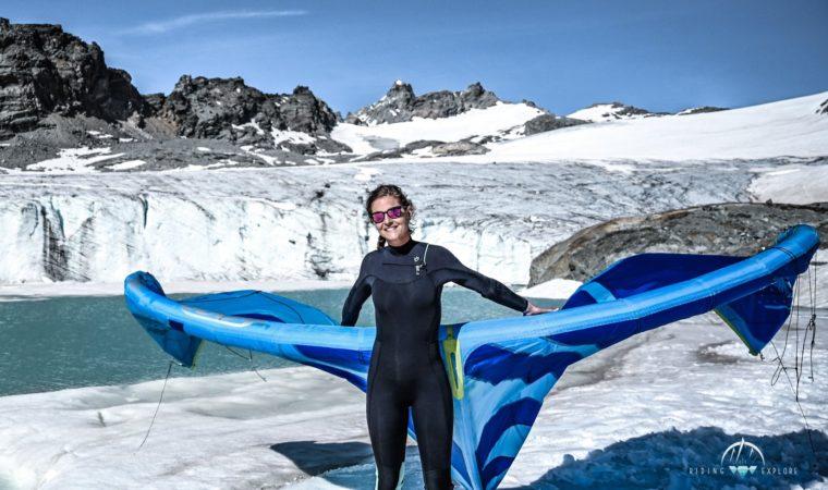Armelle Courtois Ambassadrice GlaLA Glacier du GRAND MEAN